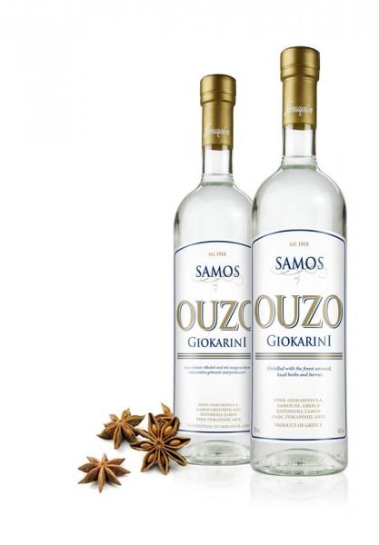 Ouzo Samos Giokarinis 0,7L 40%