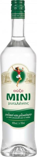 6 Flaschen OUZO Mini Mytilini 40% 0,7L