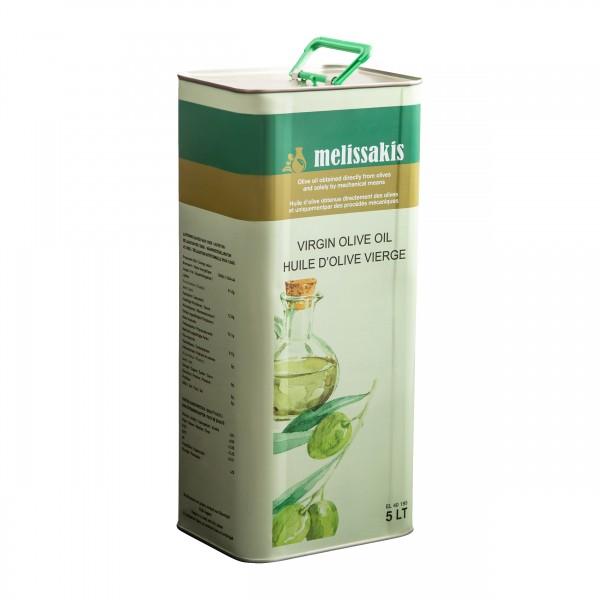 Melissakis Virgin Olivenöl aus Kreta 5L