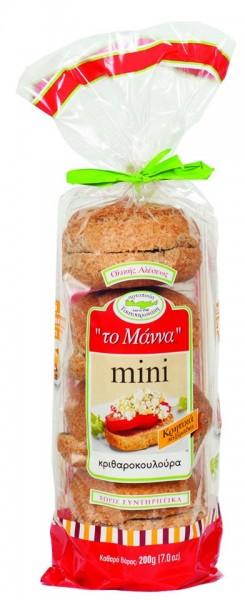 Manna Kritharokouloura Kretisches Brot Vollkorn