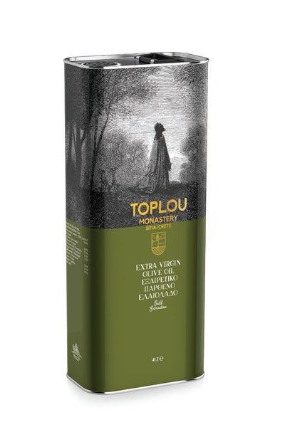 Toplou Monastery Olivenöl aus Kreta 5L Extra Virgin