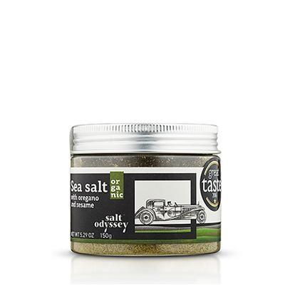 Salt Odyssey Meersalz mit Oregano und Sesam 150gr