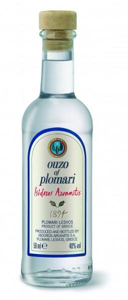 Ouzo Plomari Issidoros Arvanitis 40% 0.05L