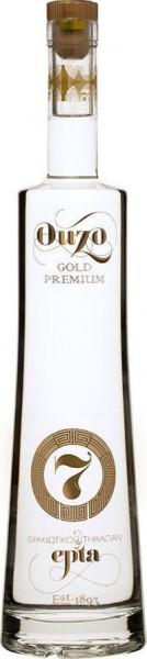 Ouzo No 7 Premium Gold 0.7L