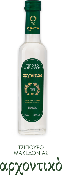 Tsipouro Melissanidi Archontiko ohne Anis 0,7L