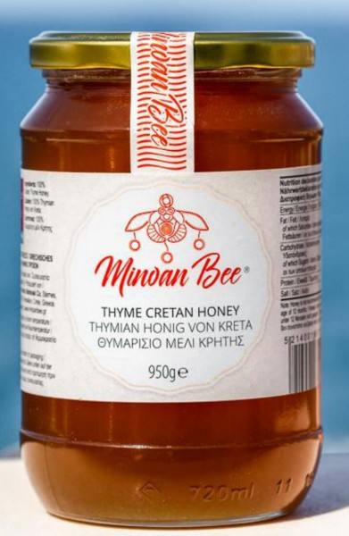 Minoan Bee Thymian Honig 950gr