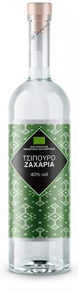 Tsipouro Zacharias BIO ohne Anis 40% 0,7L